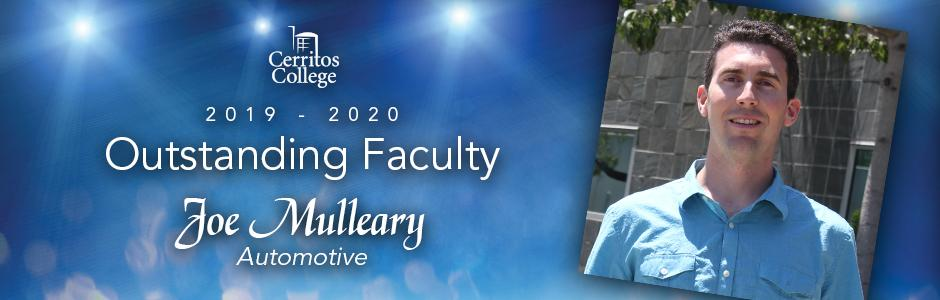 Cerritos College 2019-20 Outstanding Faculty, Joe Mulleary, Automotive