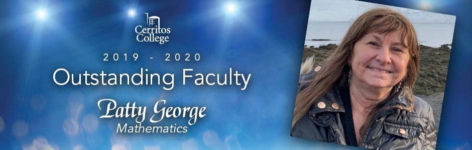 Cerritos College 2019-20 Outstanding Faculty, Patty George, Mathematics