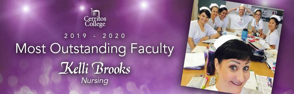Cerritos College 2019-20 Most Outstanding Faculty, Kelli Brooks, Nursing