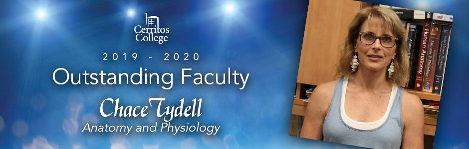 Cerritos College 2019-20 Outstanding Faculty, Chace Tydell, Anatomy and Physiology