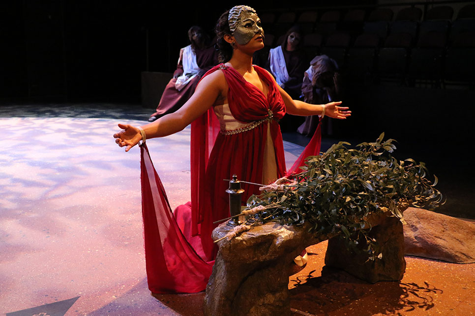 Oedipus the King  (Photo Credit:  Sarah Pirtle)