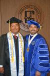 Raul Avalos and Dr. Jose Fierro