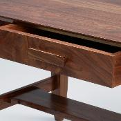 "Detail of ""Untitled"" Walnut Coffee Table, WMT 103 by David M."
