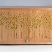 Tambour Cabinet, WMT 182 by Alfredo R.