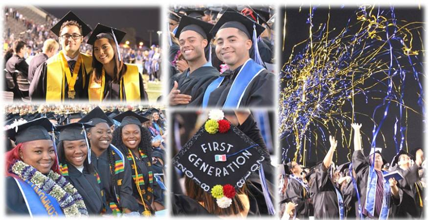 Commencement collage