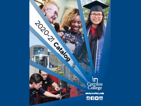 Images of Cerritos College Fall 2021 Calendar