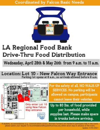 LA Food Bank flyer