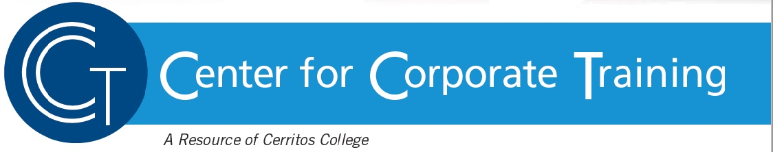 Center for Corporate Training (A Resource of Cerritos College)