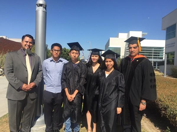 Cerritos College Lynwood High School Students Graduate Cerritos College With Certificate Of Achievement