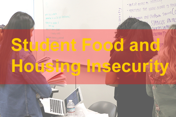 Student food and housing insecurity