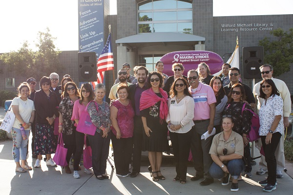 Making Strides event participants