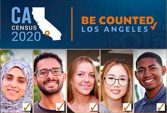 CA Census 2020 Be counted Los Angeles