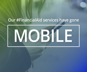 Our #FinancialAid services have gone mobile