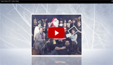 Cerritos College Holiday Video on YouTube