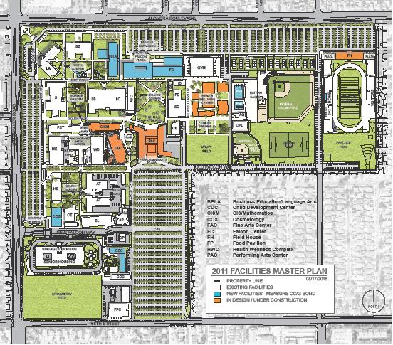 Cerritos College Facilities Master Plan