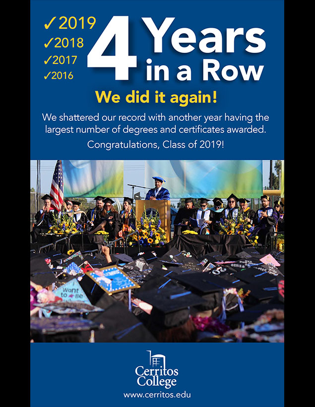 Commencement Ad (Four years in a row!)