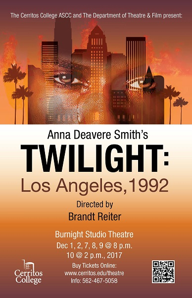 essays on twilight los angeles 1992 Twilight los angeles 1992 others are far more pessimistic, however there is, for example, mrs young soon han, who said i wish i could live together with eh blacks, but after the riots there were too much differences, the fire is still there (twilight 249.