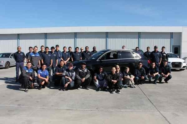 Automotive ITTP pictured with 2016 Q3 donated by Audi