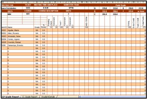 office attendance sheet excel free download