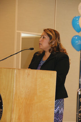 Carmen Avalos speaks