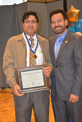 Masoud Alavian and Dr. Fierro.