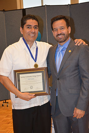 Robert Aguayo and Dr. Fierro.