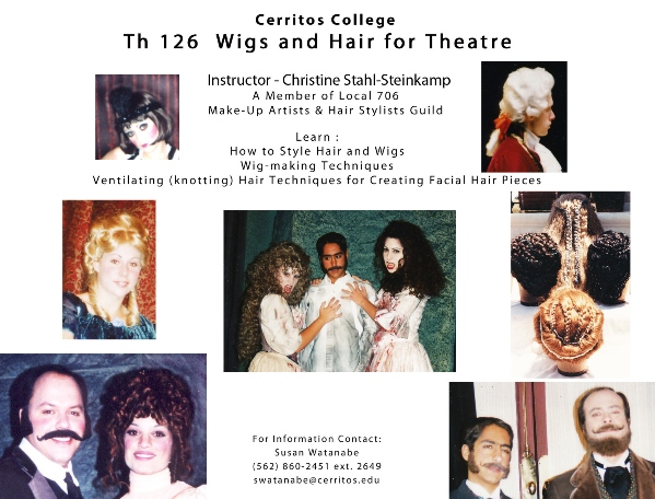 Theatre 126  Wigs and Hair for Theatre Flier